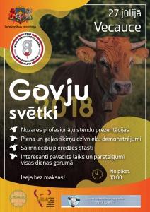 Govju svētki Vecaucē